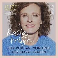 Podcast Kasia trifft Rebrush Key Visual