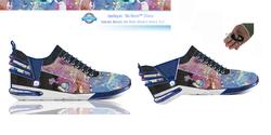 Leelayan Collage Sneaker Womens Artistic