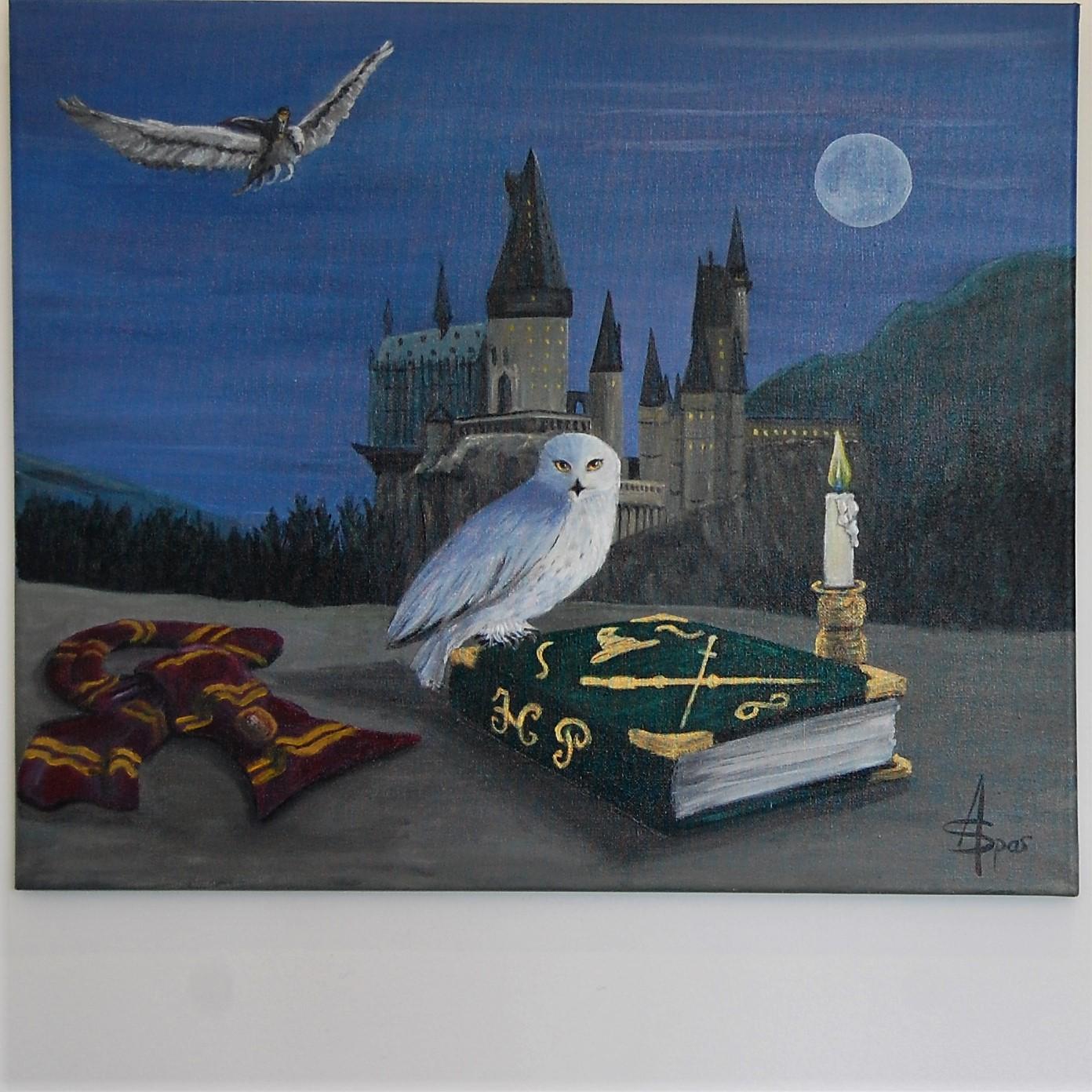Harry Potter Le Grimoire 55x46