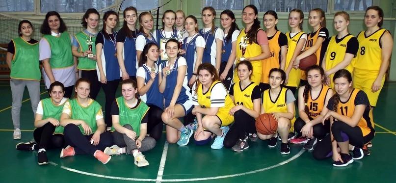 Баскетбол - девушки.