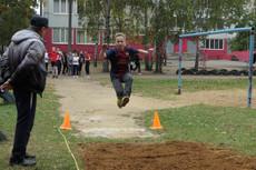 Прыжок в длину с разбега.