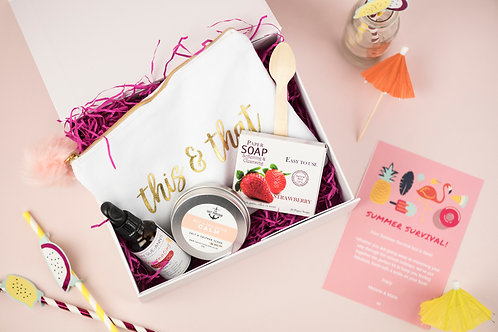 2 Box Bundle  - Girls Day Out & Summer Survival Gift Boxes