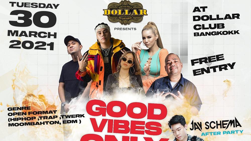 ปาร์ตี้นี้ มีแต่ของดีที่ต้องมาสัมผัส ดีเจดี ดนตรีดี บรรยากาศดี สัมผัสใหม่ของปาร์ตี้ที่โคตรดี ⚡️ Music : Hiphop, Trap, Twerk, Moombahton, EDM
