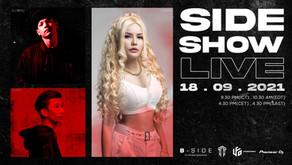 SIDESHOW LIVE feat. J-NANA , DJ BENZ , RAINY