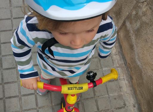 """Kettler Speedy 10"""" - bicicleta sin pedales para niños de 2 años"""