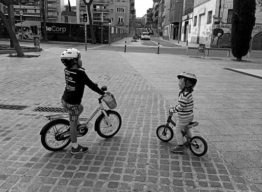 Porque empezar con la bicicleta sin pedales