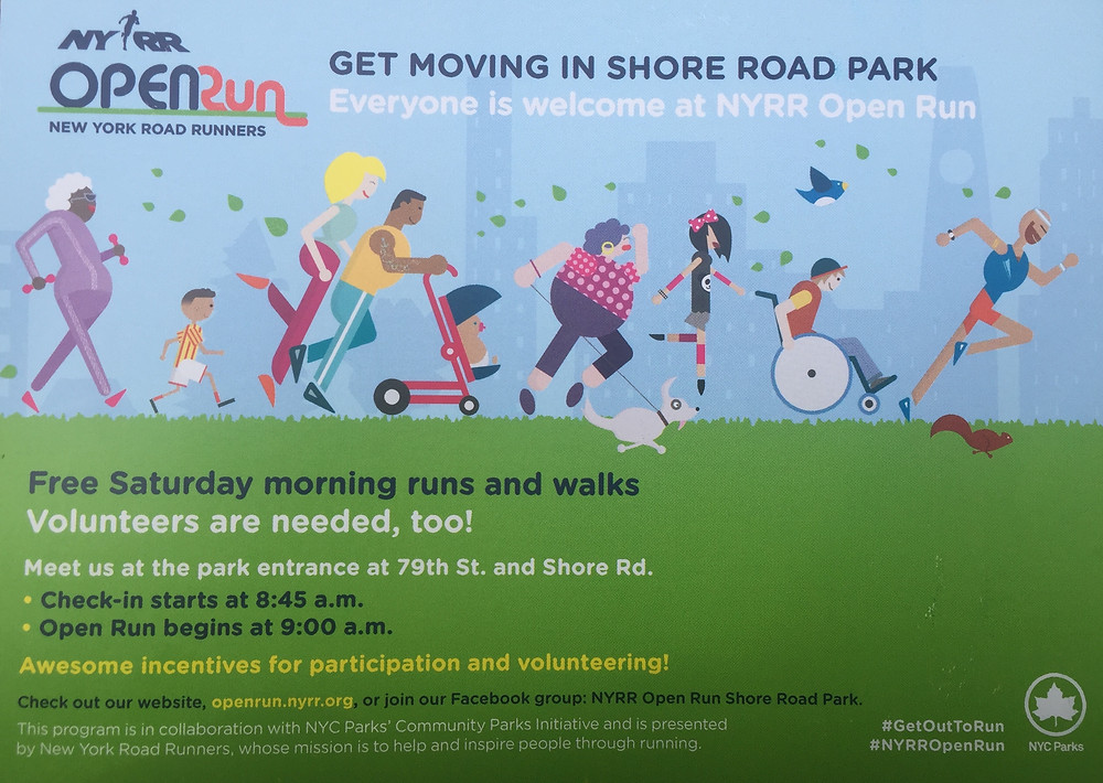 Open Run in Shore Road Park