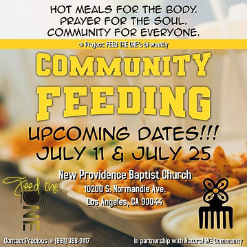 July 11 and 25 Community Feeding.jpeg