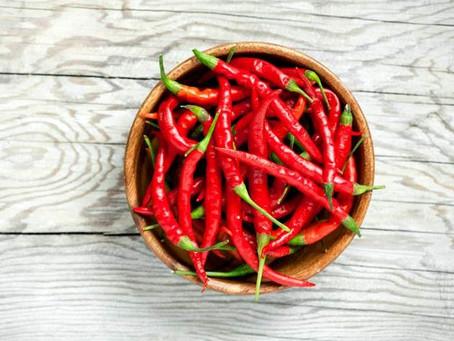 Tipo de pimenta ajuda a reduzir riscos de doença cardíaca