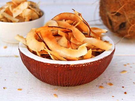 Chips de coco crocante