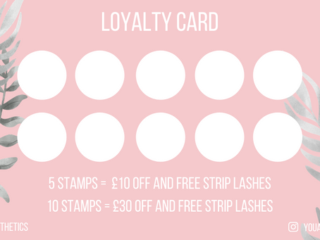 Loyalty Card Launch!