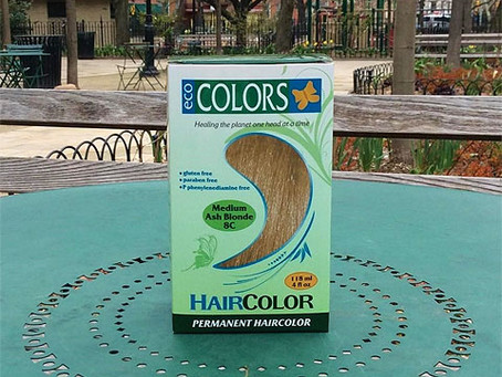 EcoColors Hair Color Ingredients