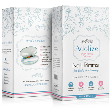 Adolize Automatic Baby Nail Trimmer