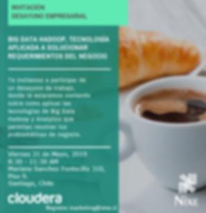 Invitación_Desayuno_Chile_Cloudera_31052
