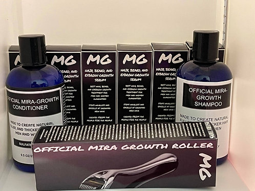 6 Month Combo for HAIR with Thickening Shampoo and Conditioner Included