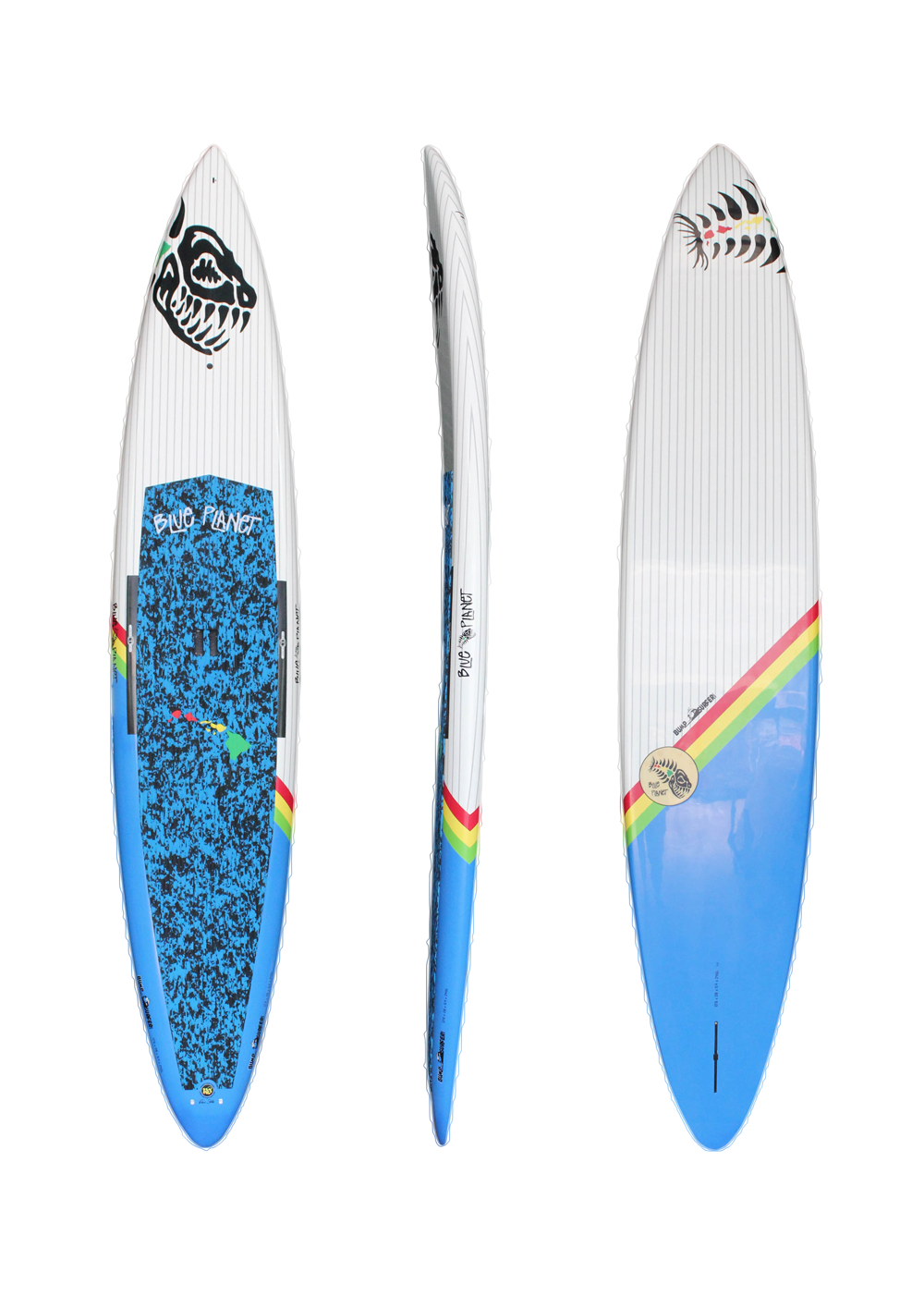 12'6_ x 28_ Bump surfer wht_blue HP