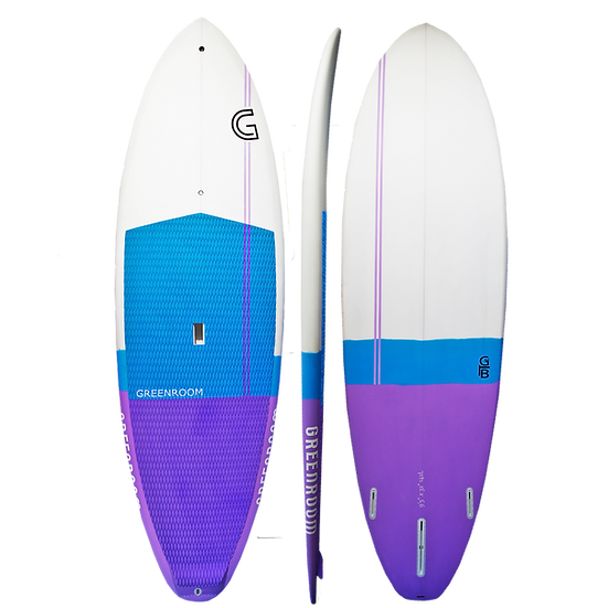 Surf Series- Fibreglass Purple/Blue