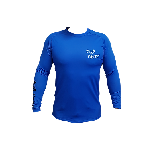 Mens Blue Planet Rash Vest