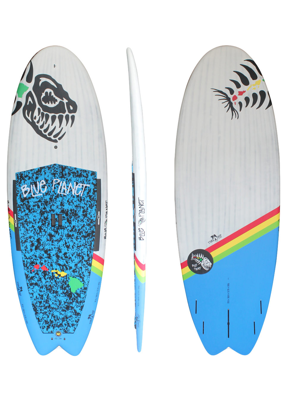 8'0x305 Taro Chip wht-blue HW