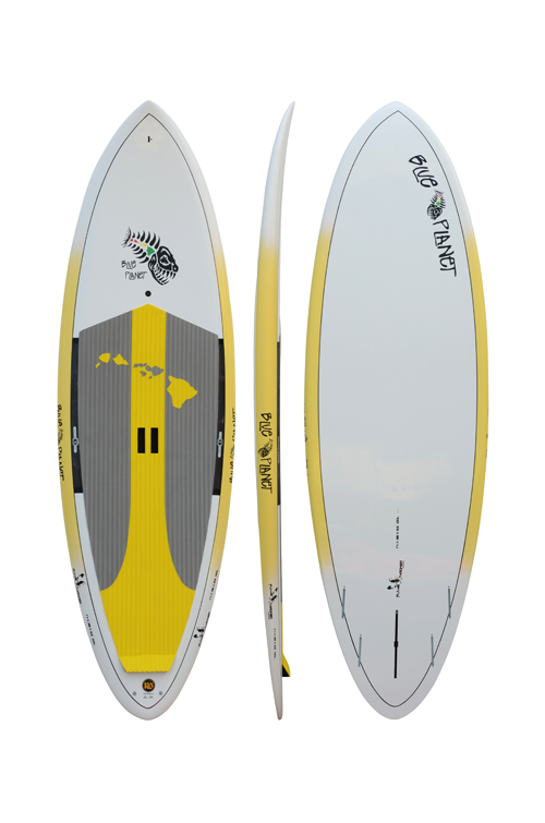 7'11 Flame Thrower Blue Planet SUP