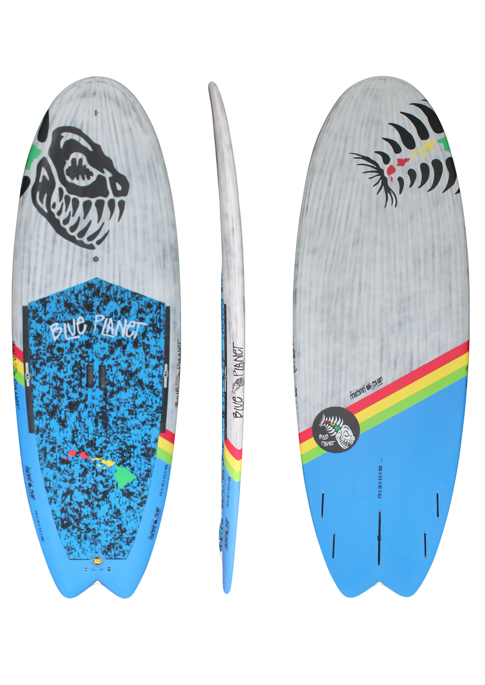 7'6x29 Micro Chip wht-blue carbon HW