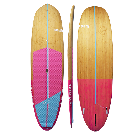 Surf Cruiser - Bamboo Pink/Blue