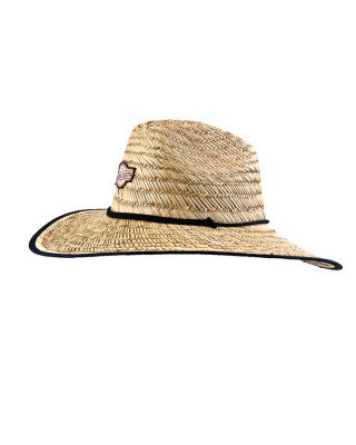 Mens Big Brim Cane Hat