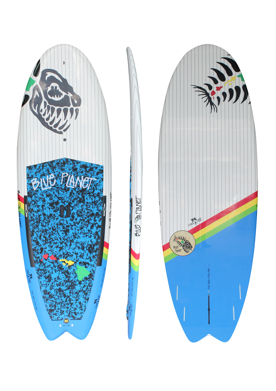 8'0x305 Taro Chip wht-blue HP