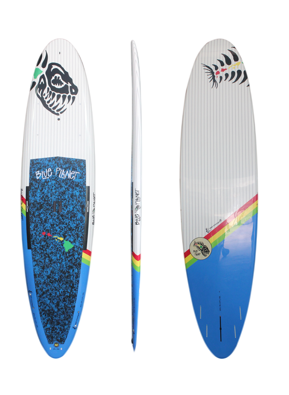 10'0x28 Nose Performer 10 wht-blu HP