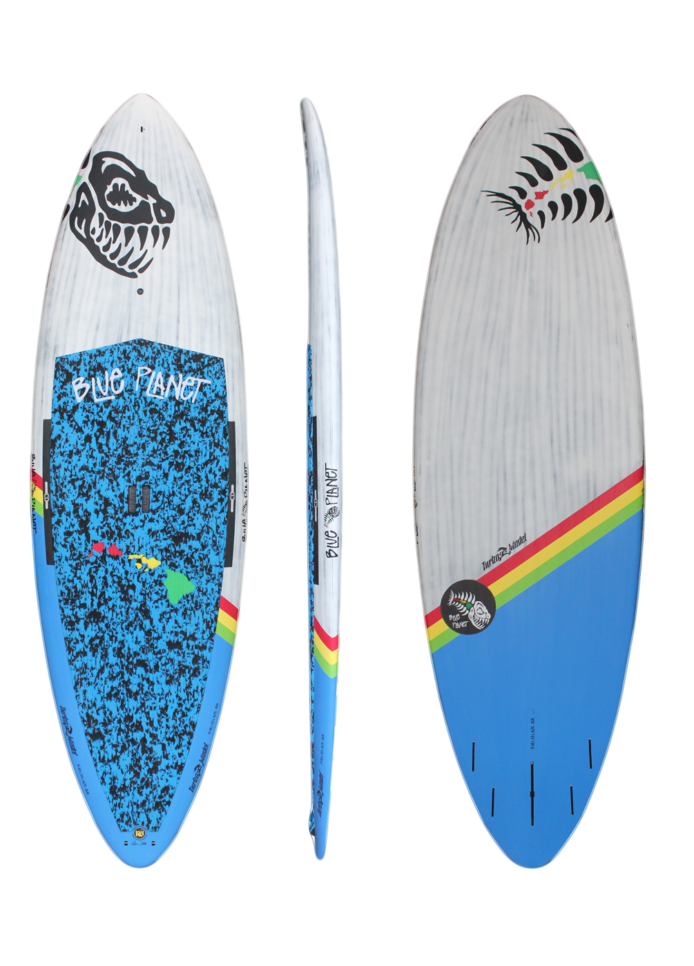 9'10x33 Turbo wht-blue carbon HW