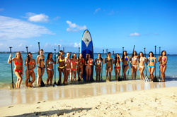 Miss Hawaii Blue Planet SUP