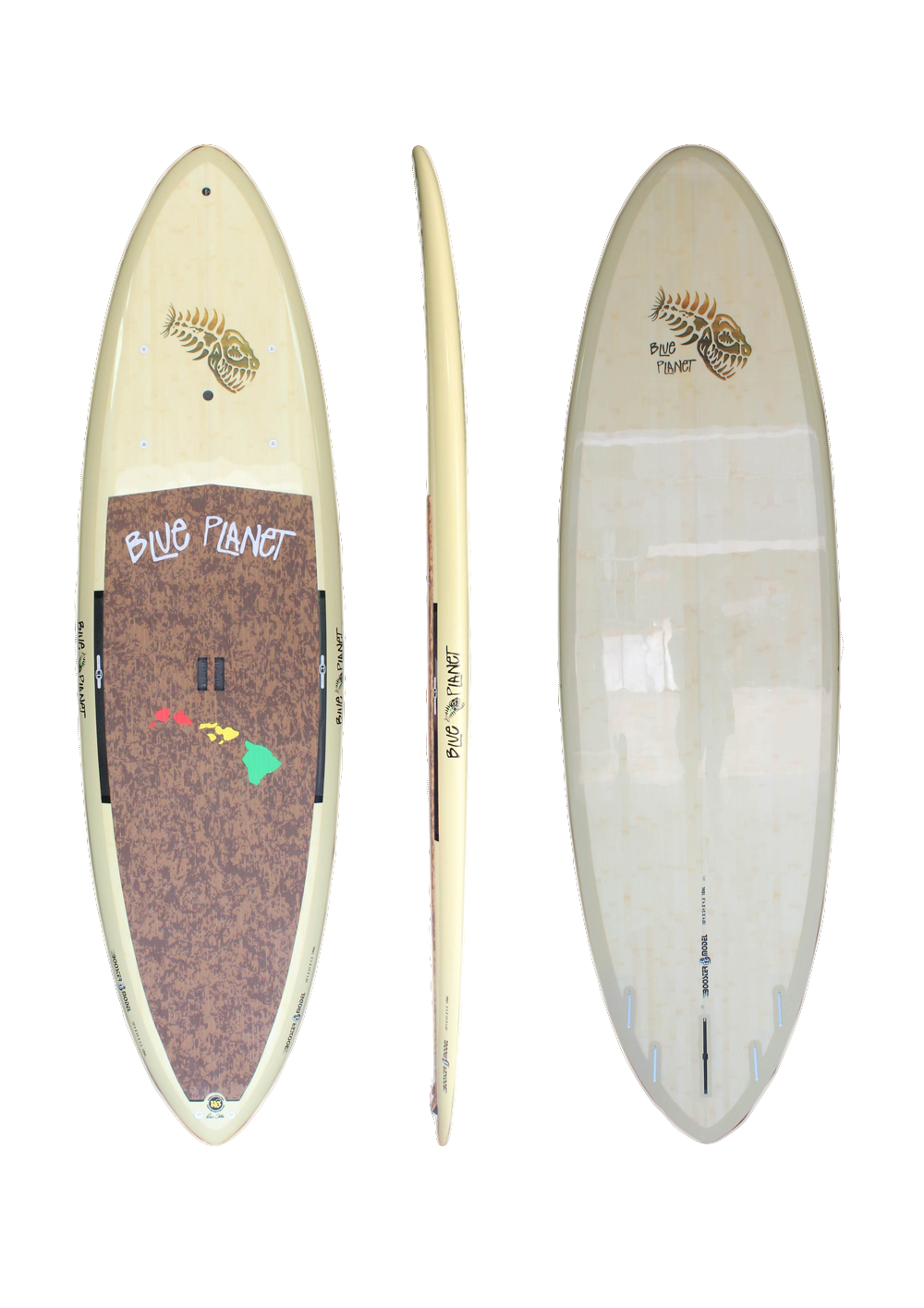 10'4_ x 34 Booster Natural Bamboo HP