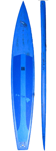 14' Dark Horse Carbon Race Board
