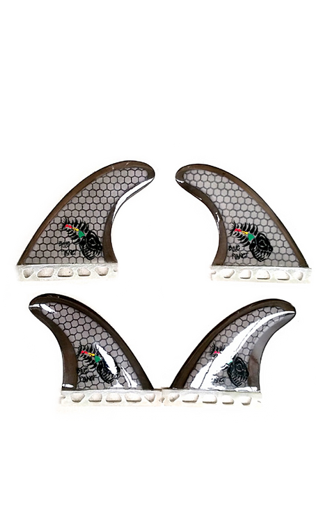 Honeycomb Quad Fins