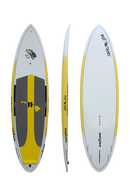 "Turbo 9'10"" SUP Yellow Planet"
