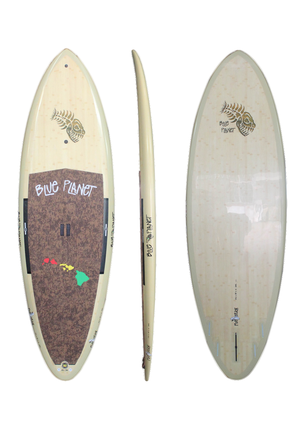 9'4_ x 33 Funstick Natural Bamboo HP