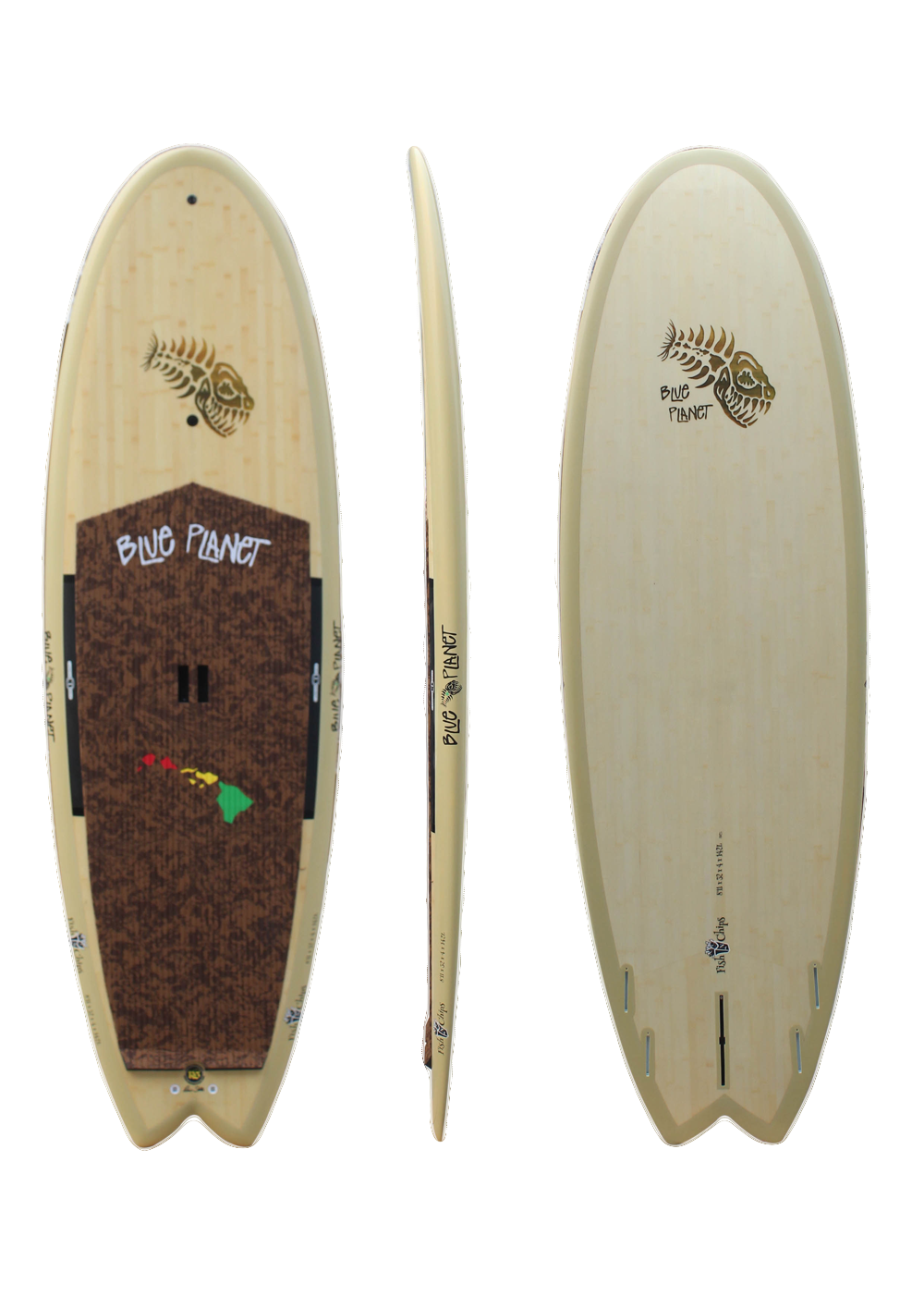 8'11_ x 32 Fish N Chips Bamboo HP