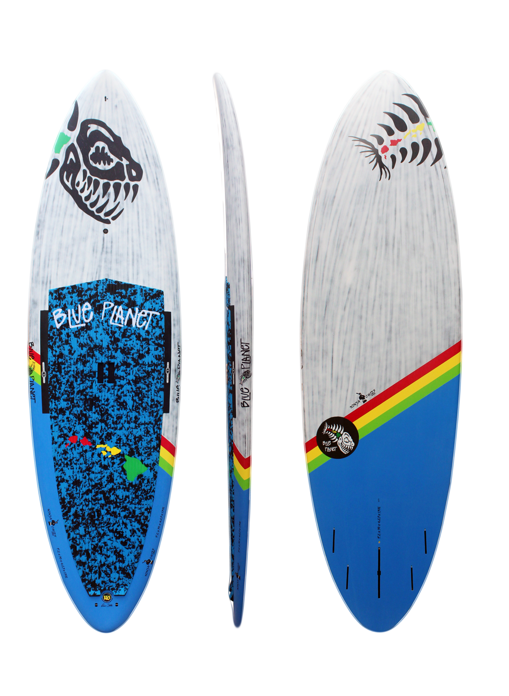 9'2x30 Ninja Chief wht-blue carbonjpg