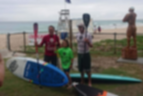Ray Gleave - 10 Foot Aus SUP Open Champion 2018