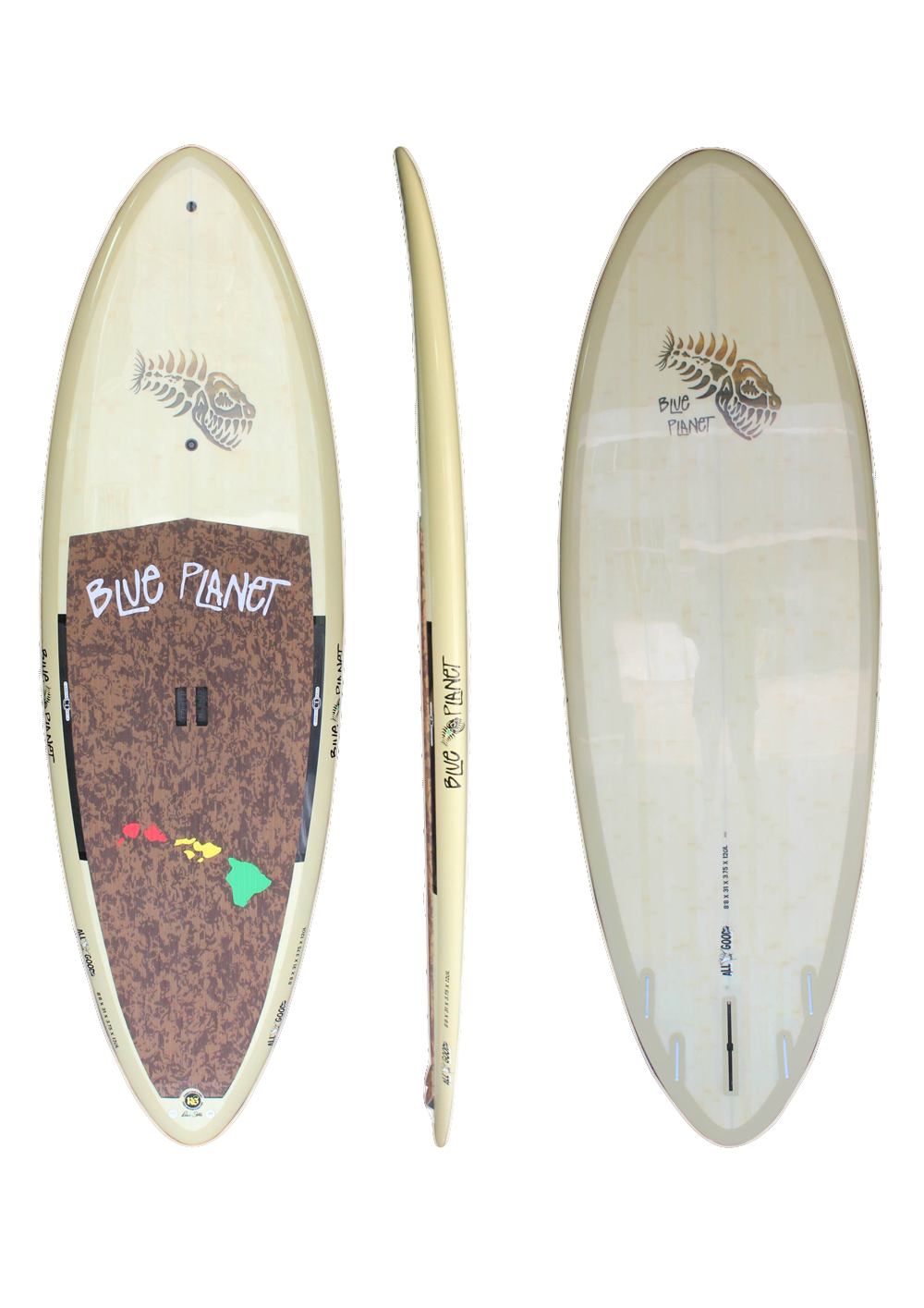8'8_ x 31_ Allgood Natural Bamboo HP