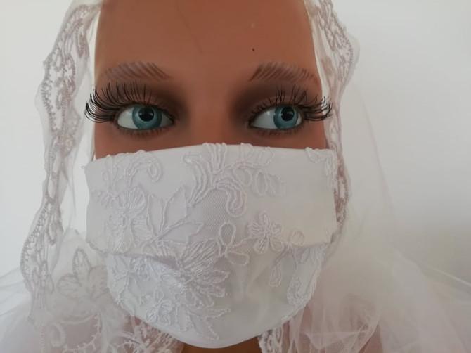 La Mascherina per le Nozze: Nuove tendenze!!
