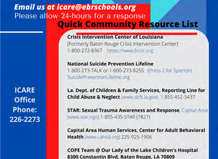 iCare Information