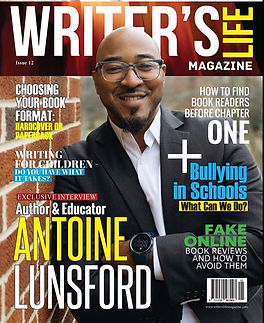 Hey y'all I'm on the cover of Writer's L