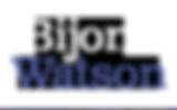 Bijon Watson Logo Blue