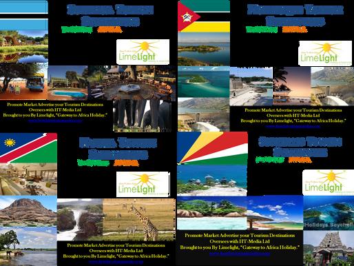 Marketing Africa Tourism Destinations Hotels Lodges. Accommodation's Limelight Media