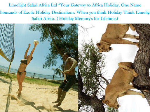 No Politics Come direct to Limelight Safari Africa Ltd Holiday Destinations Provider for Africa
