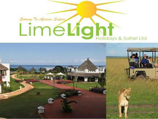 Limelight Safari Africa Ltd Hotels Accommodations Tour Adventure Air Port Transfer and Car Hire