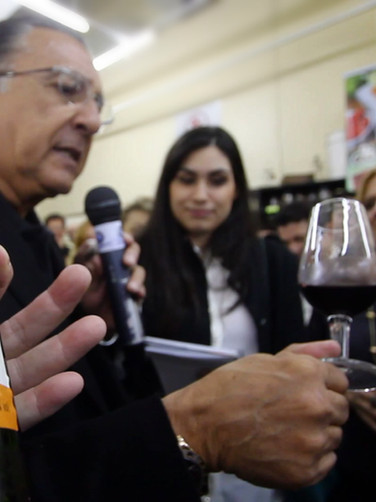 Evento Promocional dos vinhos Bueno
