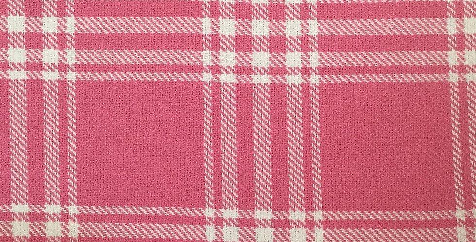 Plaid - Pink Fabric