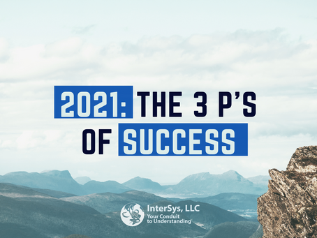 The 3 P's of Success